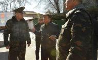 Председатель Государственной службы исполнения наказания КР Мелис Турганбаев