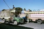 Грузовики в Афганистане. Архивное фото