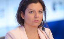 Россия сегодня эл аралык агенттигинин башкы редактору Маргарита Симоньян