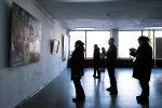 Художественная выставка вКыргызском национальном музее изобразительных искусств имени Гапара Айтиева. Архивное фото