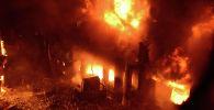 Пожар в многоэтажном жилом доме в Дакке (Бангладеш). 21 февраля 2019 года