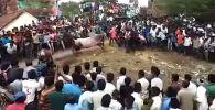 В Индии религиозное мероприятие едва не обернулось трагедией для верующих.
