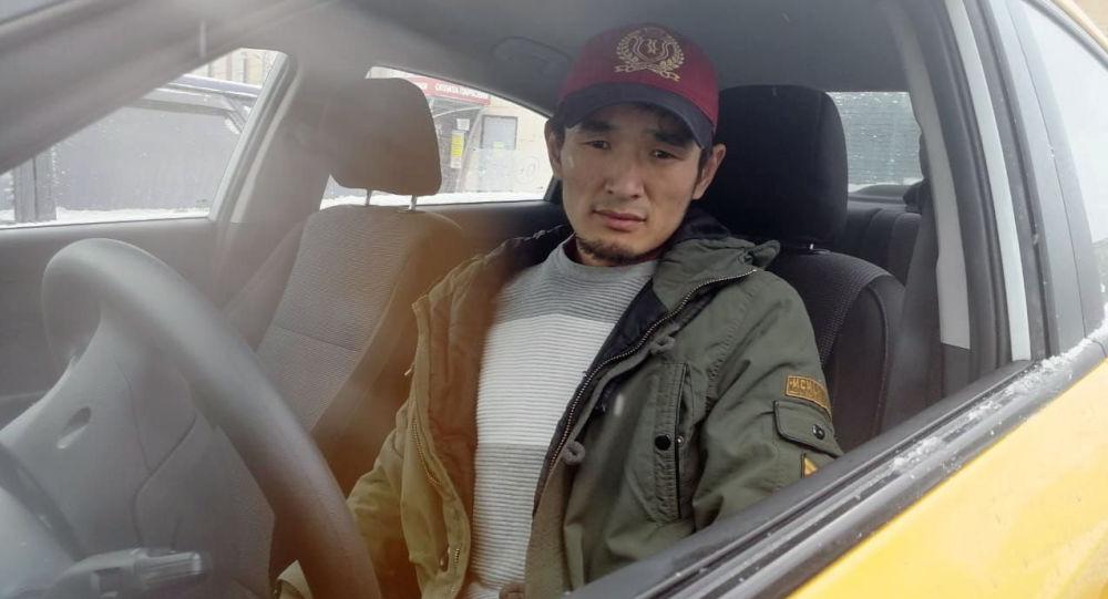 Таксист Нурсултан Кайназаров, вернувший миллион долларов владельцу в Москве. Архивное фото