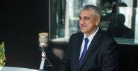 Чрезвычайный и Полномочный Посол Узбекистана в Кыргызстане Комил Рашидов во время интервью на радиостудии Sputnik Кыргызстан