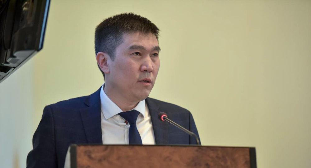 Вице-мэр Уланбек Азыгалиев. Архивное фото