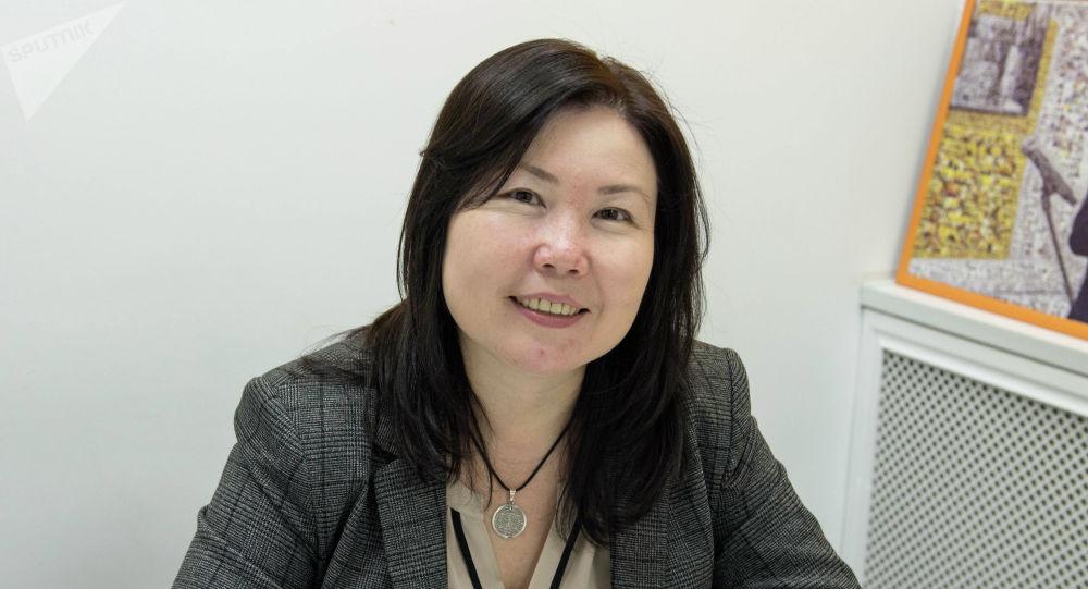 Председатель правления одного из банков республики Маргарита Черикбаева