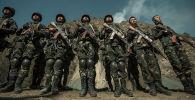 Кытай аскерлери. Архивдик сүрөт