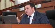 Жогорку Кенештин депутаты Мирлан Жээнчороев