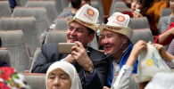 Москвадагы кыргызстандыктар. Архивдик сүрөт