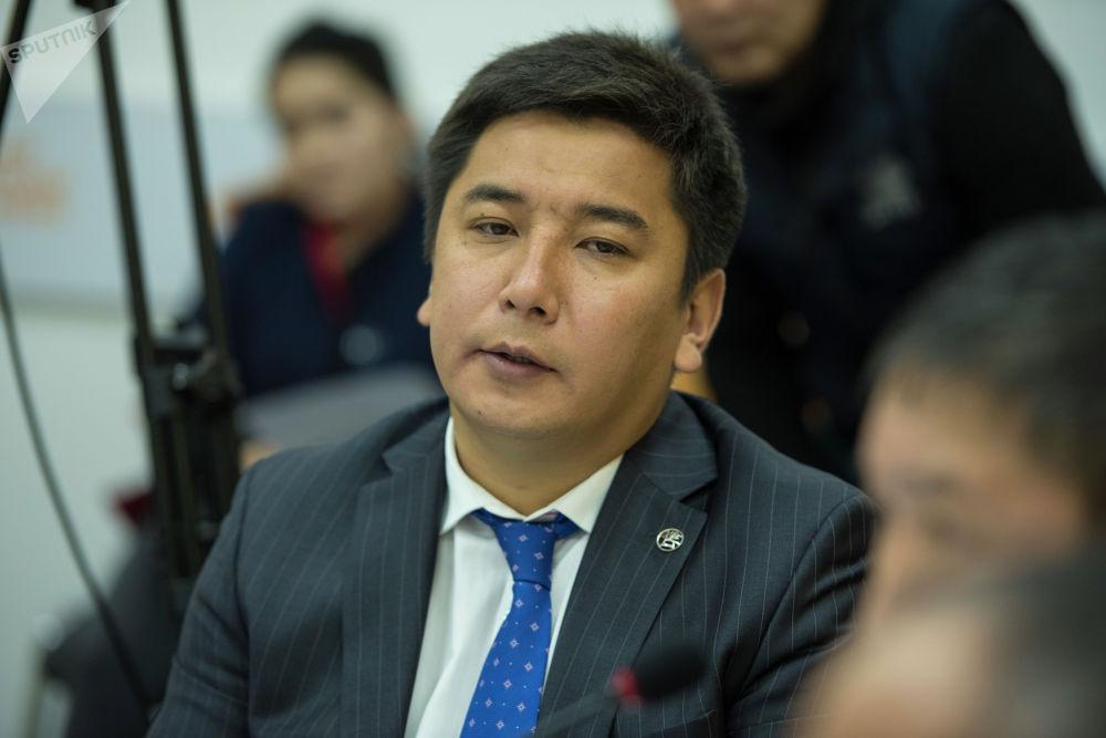 Заместитель министра культуры, информации и туризма Максат Дамир уулу