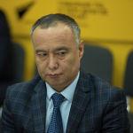Начальник Управления технического регулирования и метрологии Министерства экономики Бакытбек Шабданов