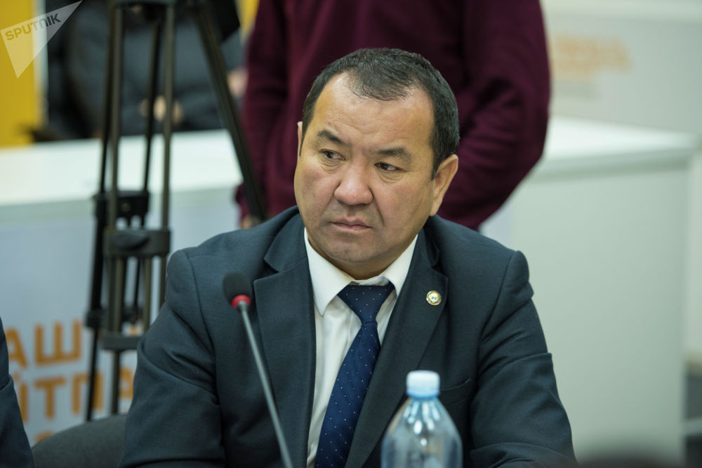 Исполняющий обязанности начальника Управления экологической безопасности Госинспекции по экологической и технической безопасности Максат Омуров