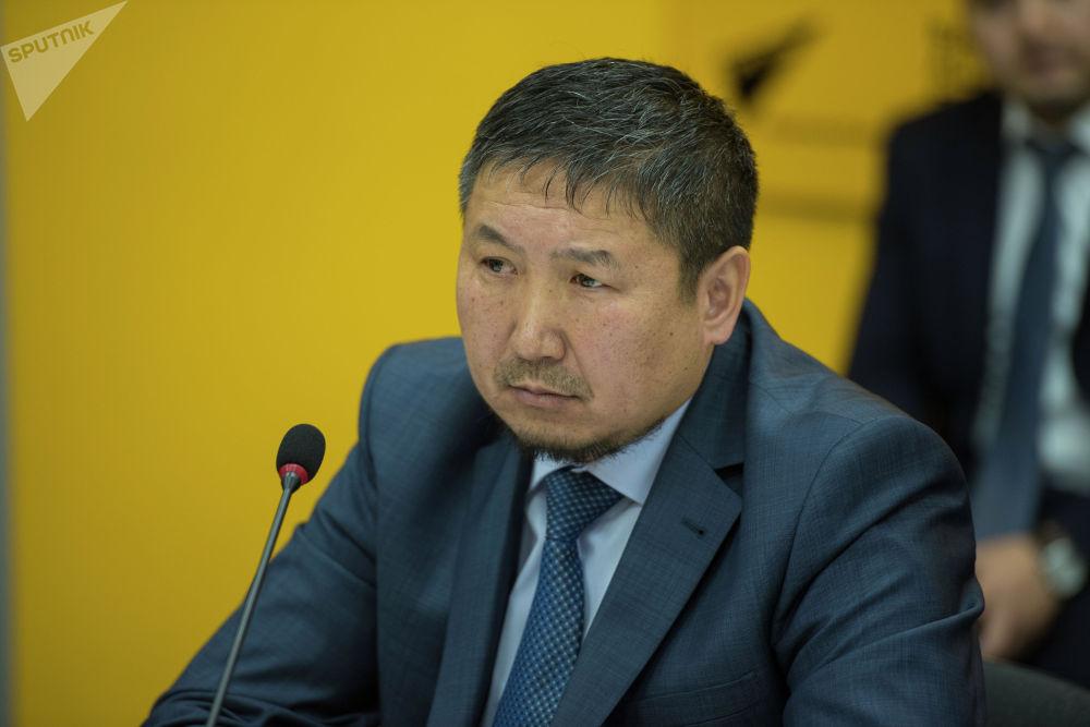 Председатель ассоциации производителей воды КР Эдиль Мамытбеков