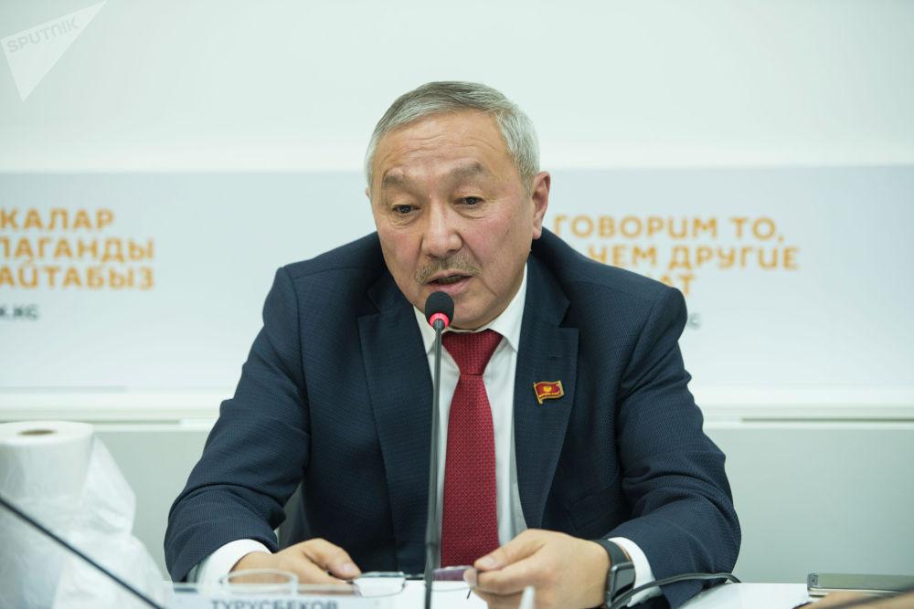 Депутат Жогорку Кенеша Бактыбек Турусбеков