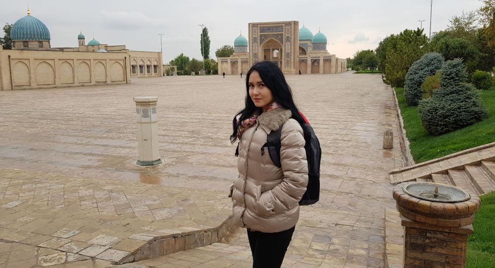 Колумнист Асель Минбаева в Узбекистане