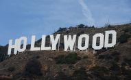 Знаменитый памятный знак на Голливудских холмах в Лос-Анджелесе. Архивное фото