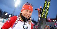 Үч жолу олимпиада чемпиону болгон биатлончу Анастасия Кузьмина