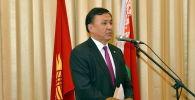 Кыргызстандын Түркиядагы элчиси болуп дайындалган Кубанычбек Өмүралиев