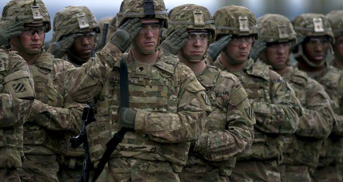 Военнослужащие США во время учений. Архивное фото