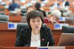 ЖК депутаты Жылдыз Мусабекова. Архив