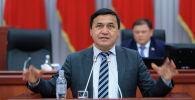 Архивное фото депутата ЖК Каныбека Иманалиева