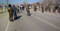Кыргыз-тажик чек арасында абал. Архивдик сүрөт