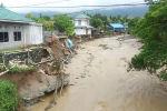 Последствия наводнения в Сентани, провинция Папуа. Индонезия