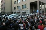 Демонстрация в Белграде. Архивное фото