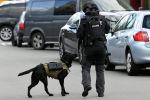 Голландиянын Утрехт шаарында полиция кызматкери. Архивдик сүрөт