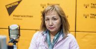 Представитель Фонда обязательного медицинского страхования Гульжан Исакова во время беседы на радио