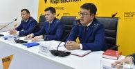 Пресс-конференция Генпрокуратура о контрабанде, должностных и особо тяжких преступлениях