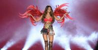Супермодель бренда нижнего белья Victorias Secret Тейлор Хилл. Архивное фото