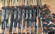 В Бишкеке за два дня изъяли 215 единиц огнестрельного, газотравматического оружия и 155 патронов к ним
