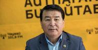 Волейбол федерациясынын вице-президенти Жеңишбек Кызалаков