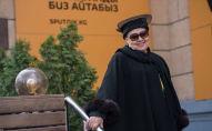 Одна из первых стюардесс Кыргызстана Тлеухор Бошумова