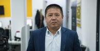 Бишкек жашыл чарба муниципалдык ишканасынын башкы агроному Рысалы Жаналиев