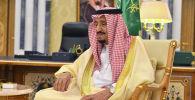 Сауд Аравия падышасы Салман бин Абдель Азиз Аль Сауд. Архив