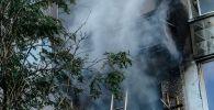 Пожар в квартире. Архивное фото