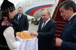Россиянын президенти Путин мамлекеттик сапар менен Кыргызстанга келди