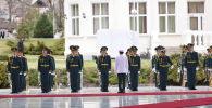 Военнослужащие нацгвардии в госрезиденции в ожидании встречи президента РФ Владимира Путина