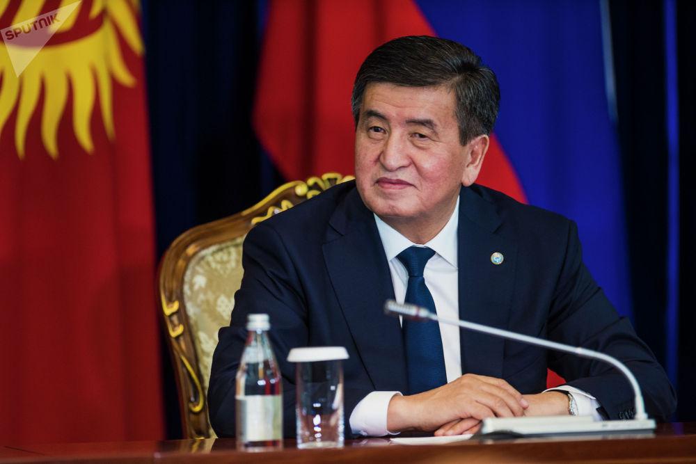 Сооронбай Жээнбеков заявил, что госвизит Путина — несомненно, яркое историческое событие в кыргызско-российских отношениях