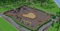 Эскиз нового сквера на пересечении улиц Анкара и Виноградная в Бишкеке