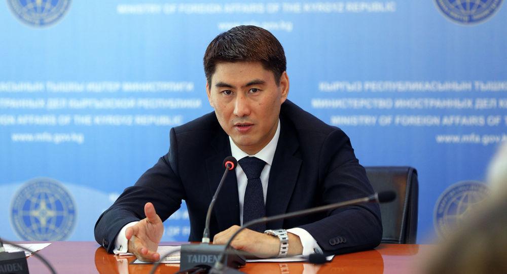 Кыргызстандын тышкы иштер министри Чыңгыз Айдарбеков. Архивное фото