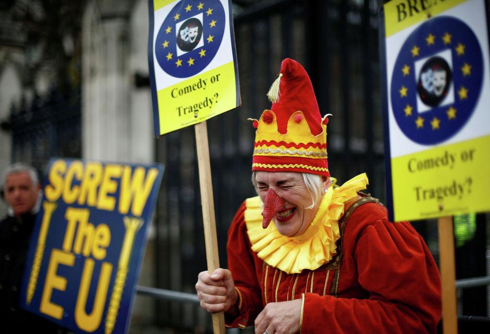 Противники Brexit в Лондоне