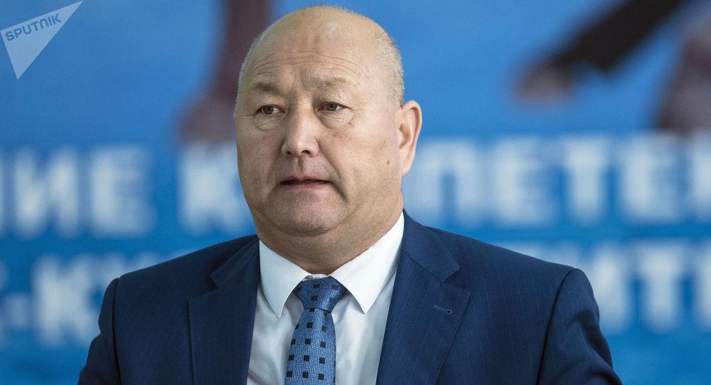 Вице-премьер Жеңиш Разаковдун архивдик сүрөтү