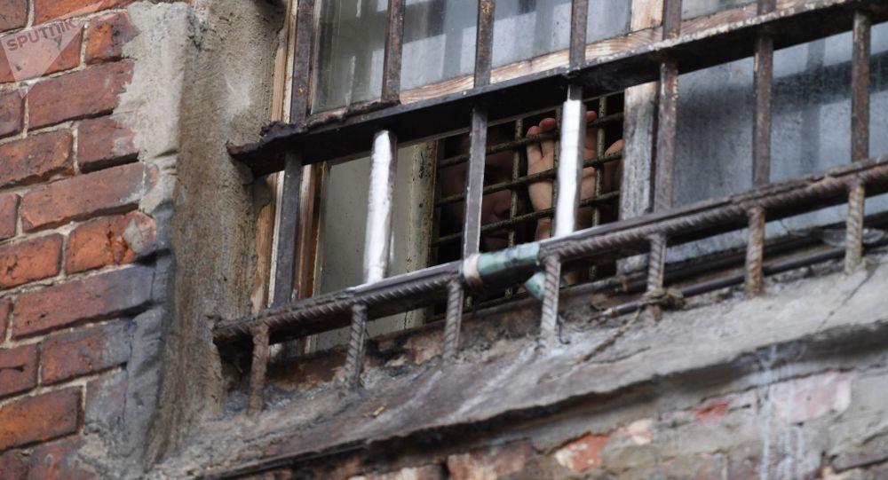 Окно в исправительной колонии. Архивное фото