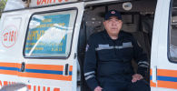 Нурбек Айылчинов ӨКМдин куткаруу кызматында 18 жылдан бери иштейт