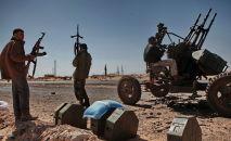 Ливиянын аскер кызматкерлери. Архив