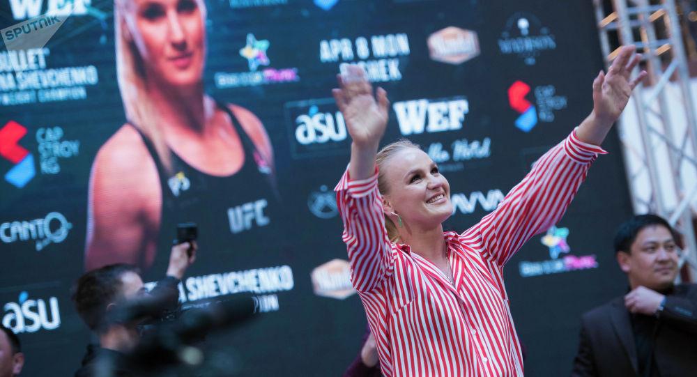 UFC чемпиону Валентина Шевченко