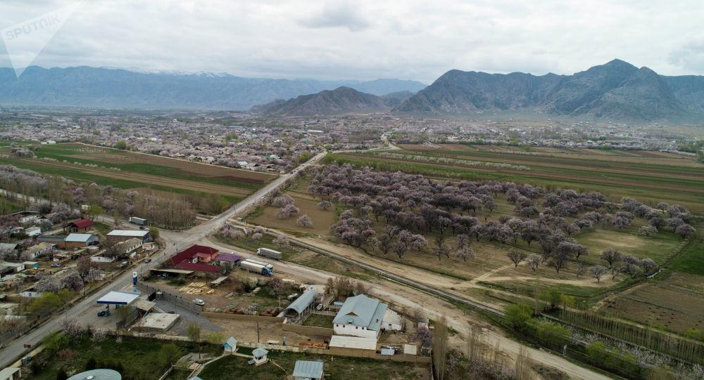 Баткен шаары. Архивдик сүрөт